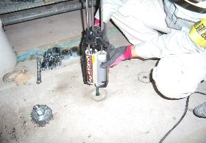 ディスクシアキーによる耐震補強工事